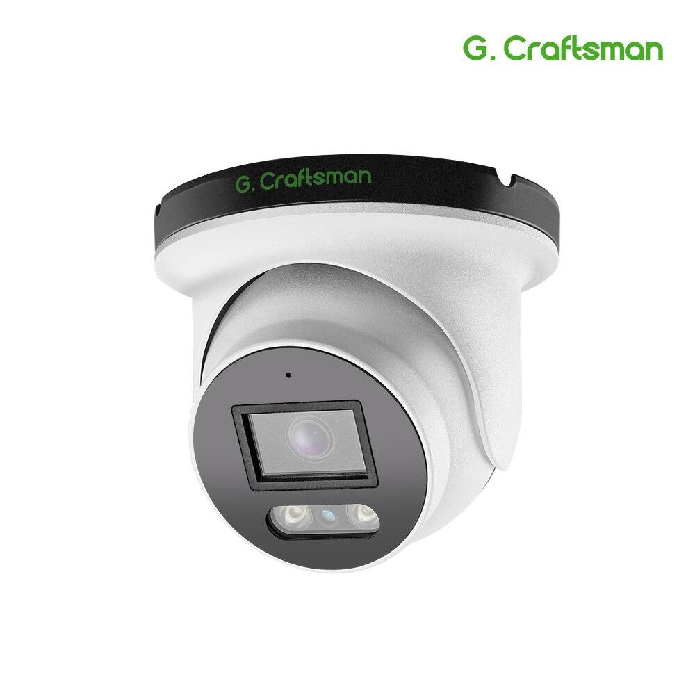 IP-камера видеонаблюдения GCraftsman L POE, аудио, 5 МП, 4K, SONY