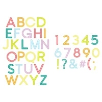 downtown letters and numbers new metal cutting dies scrapbook diary decoration stencil embossing template diy greeting card 2021
