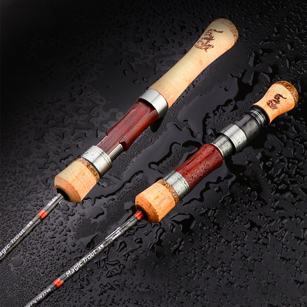 Fishing Rod Trout Rod 4 Sections Portable Lightweight Travel Rod High Carbon Spinning/Casting Rod Fishing Accessories tackle enlarge