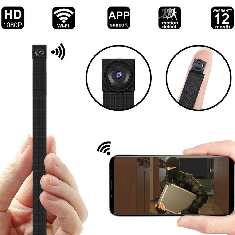 HD1080P DIY Portable WiFi IP Mini Camera P2P Wireless Micro webcam Camcorder Video Recorder Night vision Remote View support128g