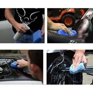 Image 5 - Губки AUTOYOUTH для чистки автомобиля, тряпки из микрофибры для воска и полировки автомобиля, Аппликаторы (8 шт. в упаковке)