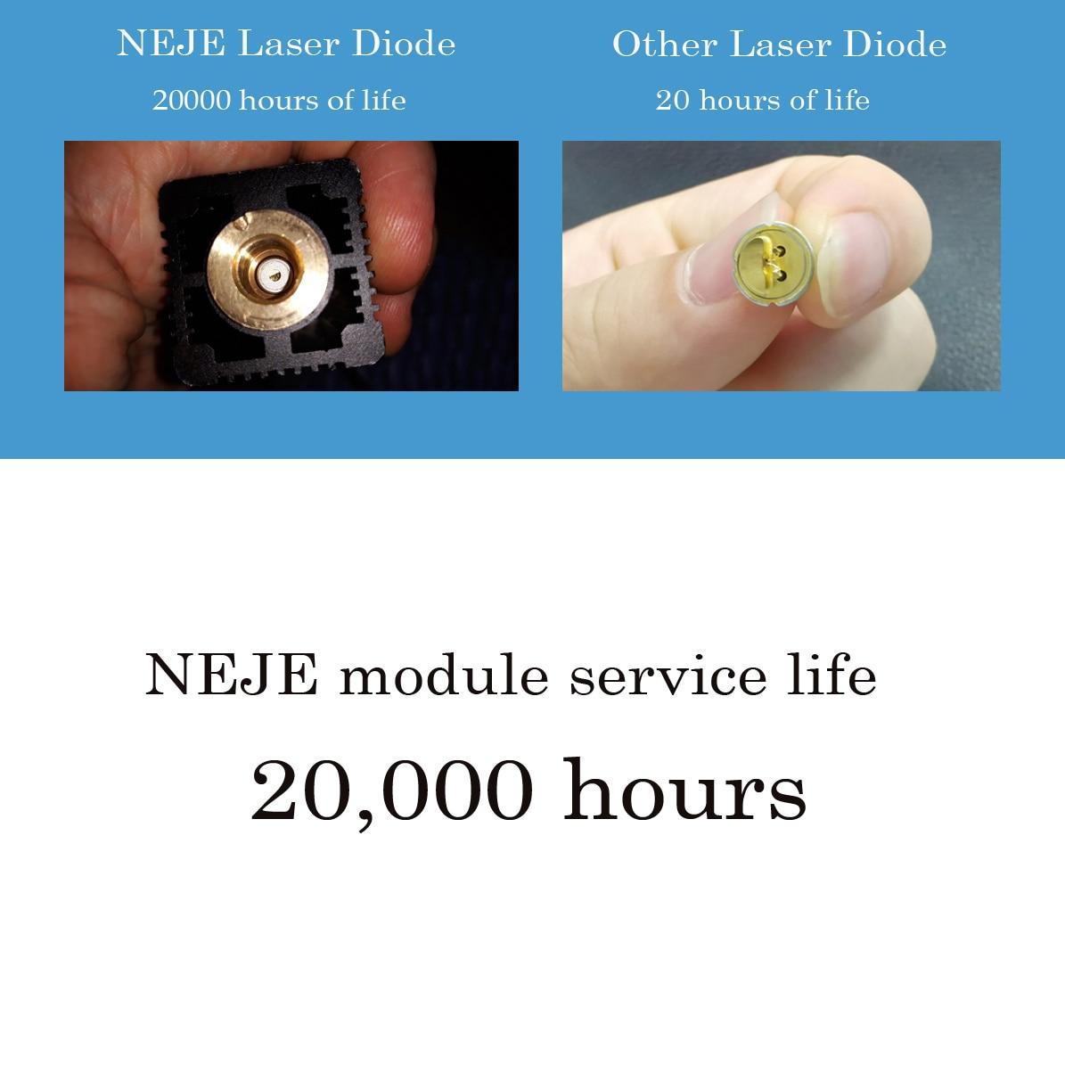 20W desktop lasergraveerder en -snijder - lasergravure en snijmachine - Houtbewerkingsmachines - Foto 5
