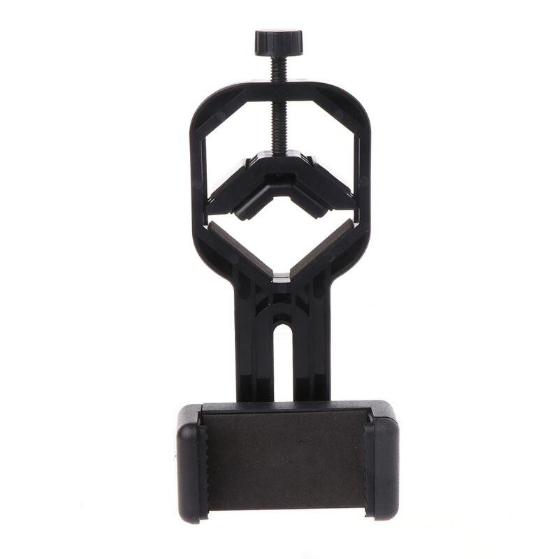 Adaptador Universal de teléfono móvil con abrazadera de resorte monóculo accesorios de microscopio adaptan telescopio teléfono móvil