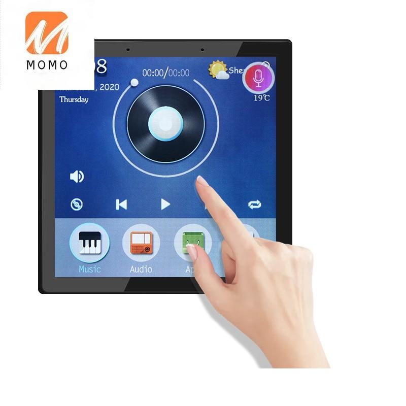 بوابة دعم 4 بوصة أندرويد الكل في واحد شاشة تعمل باللمس للمنزل الذكي مفتاح تحكم في الحائط