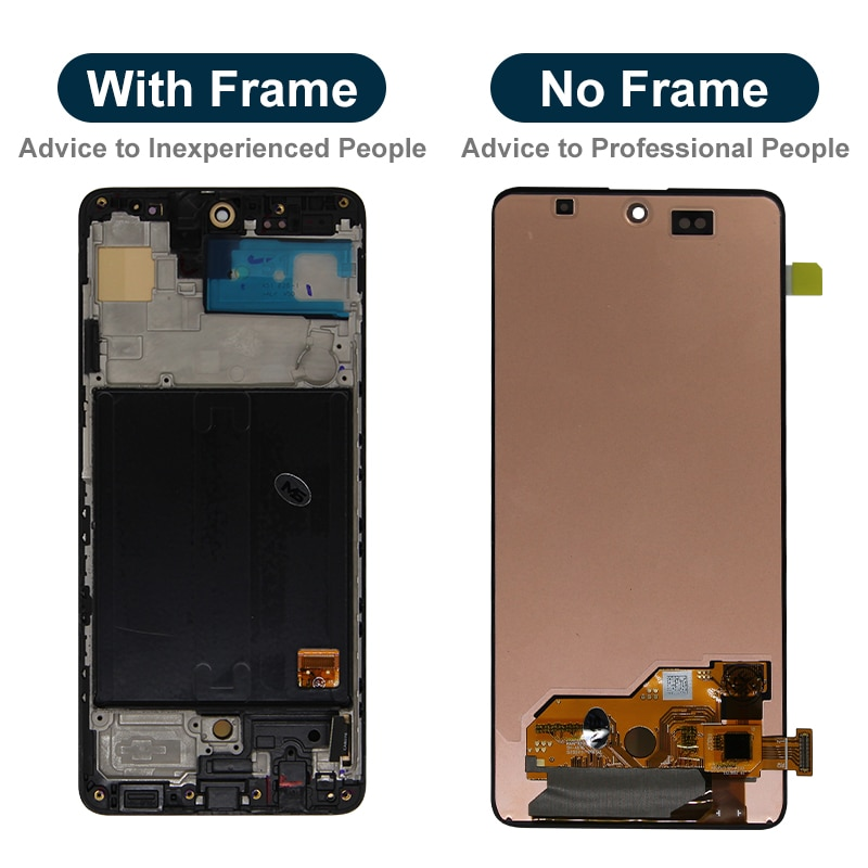 Original For Samsung Galaxy A51 LCD Touch Screen Digitizer Replacement Parts For SM-A515F/DSM A515F/DST A515F A515 Display LCD enlarge