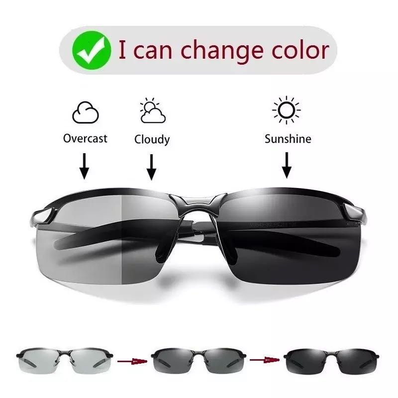 Color Changing Sunglasses Men Polarized Chameleon Glasses Men Driving Sunglasses Day And Night Vision Driver Goggles uv400 optometry color blindness color deficiency test book 2018 new xith edition color blindness pattern testing driving sunglasses