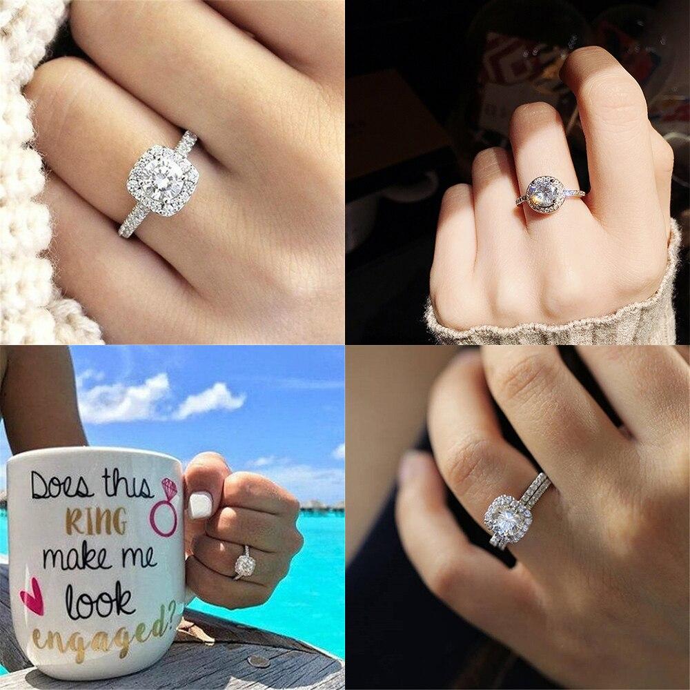 ZHOUYANG Ring Für Frauen Exquisite Bijoux Zirkonia Hochzeit & Verlobung Ring Mode Schmuck R531 R781