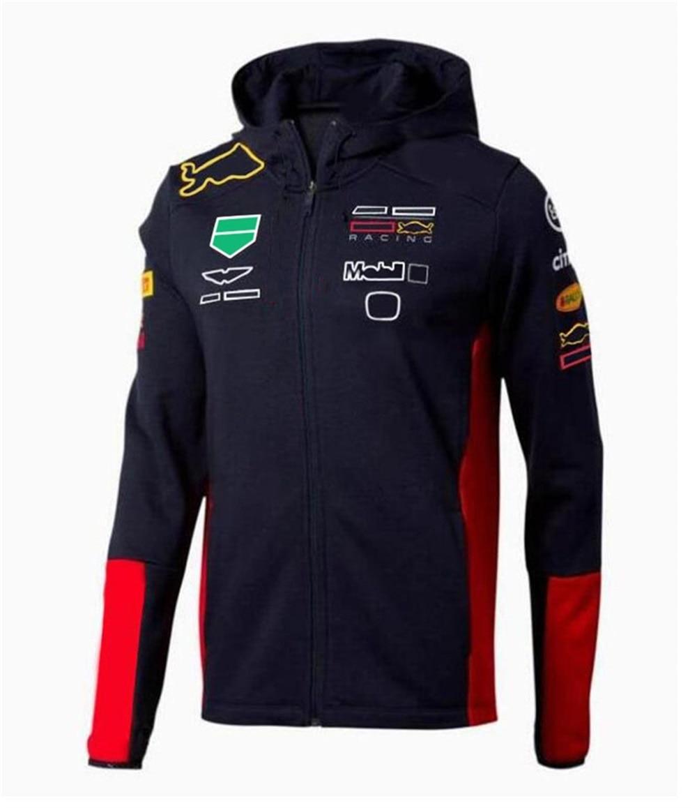 F1 سترة 2021 حار نمط شعار سيارة سترة F1 بدلة سباق فريق تذكارية حجم كبير رياضية صيغة 1 بدلة سباق تخصيص