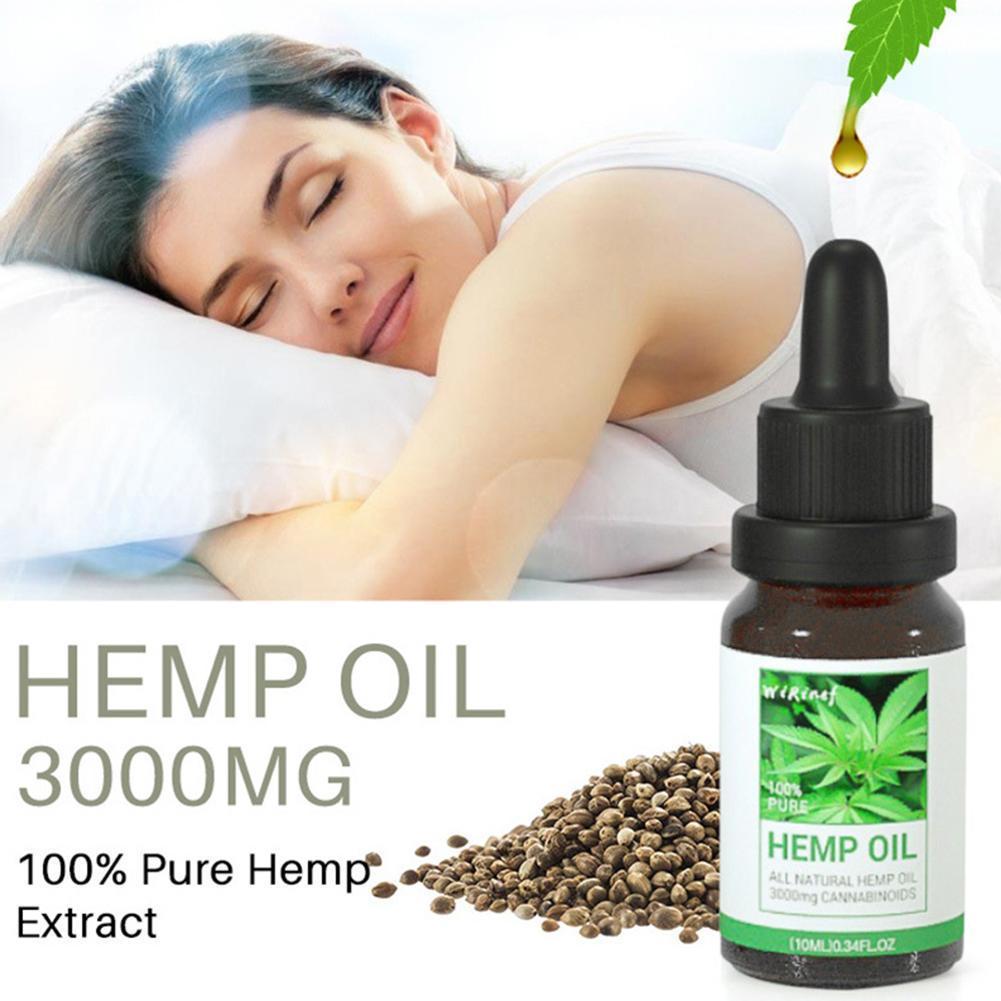 New 10g Cbd Organic Hemp Seed Extracthemp Seed Oil Bioactive Drop to Relieve Pain Reduce Sleep Anxiety Best Lubricanting Product
