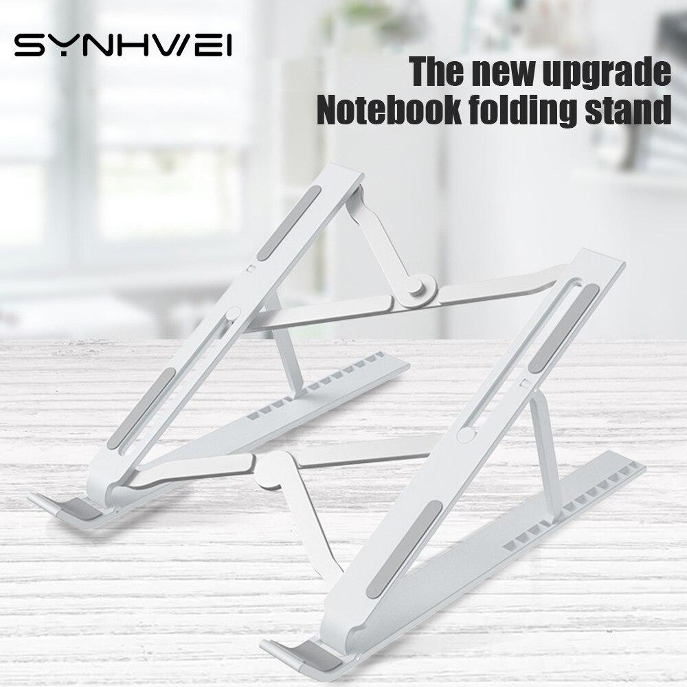 Adjustable Foldable Laptop Stand Non-Slip Desktop Protable Holder for Notebook Macbook Pro Air iPad