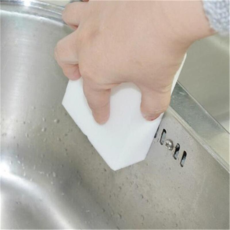 1 Uds esponja de limpieza mágica de alta calidad limpiador de melamina, accesorios de cocina para baño Herramientas de limpieza