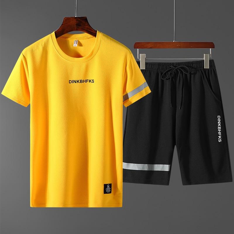 Модная мужская спортивная одежда 2020, одежда для спортзала, фитнеса, бега, тренировок, костюм для бадминтона, спортивная одежда, одежда для фи...