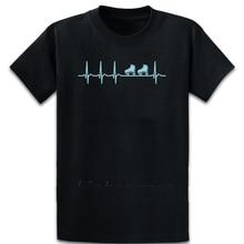 Heartbeat Roller Skating Shirt Skater Derby Gift T Shirt Normal S-4XL Crazy Designer Spring Cotton New Fashion Clothing Shirt
