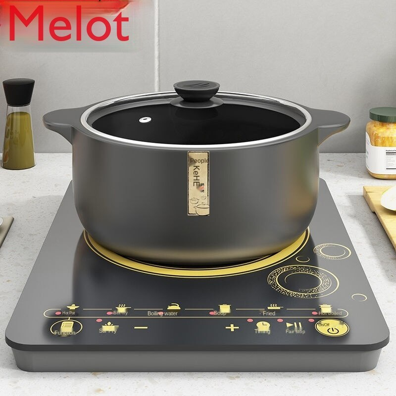 وعاء خزفي طباخ التعريفي الغاز ثنائي الغرض مقاومة للحرارة العالية السيراميك خزفي خزفي صيني