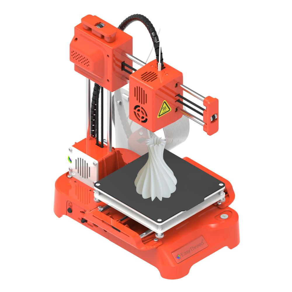 Easythreed K7  mini cute easy to use kids children eductaion gift entry level toy personal student 3d printer