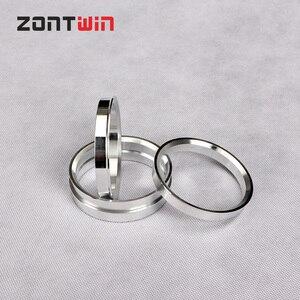 4pcs Car Aluminum Hub Rings Hub Centric Rings Wheel Bore 73.1-66.45 73.1-66.6 73.1-70.3 73.1-72 73.1-72.6 70.1-56.6 76.1-70.5mm