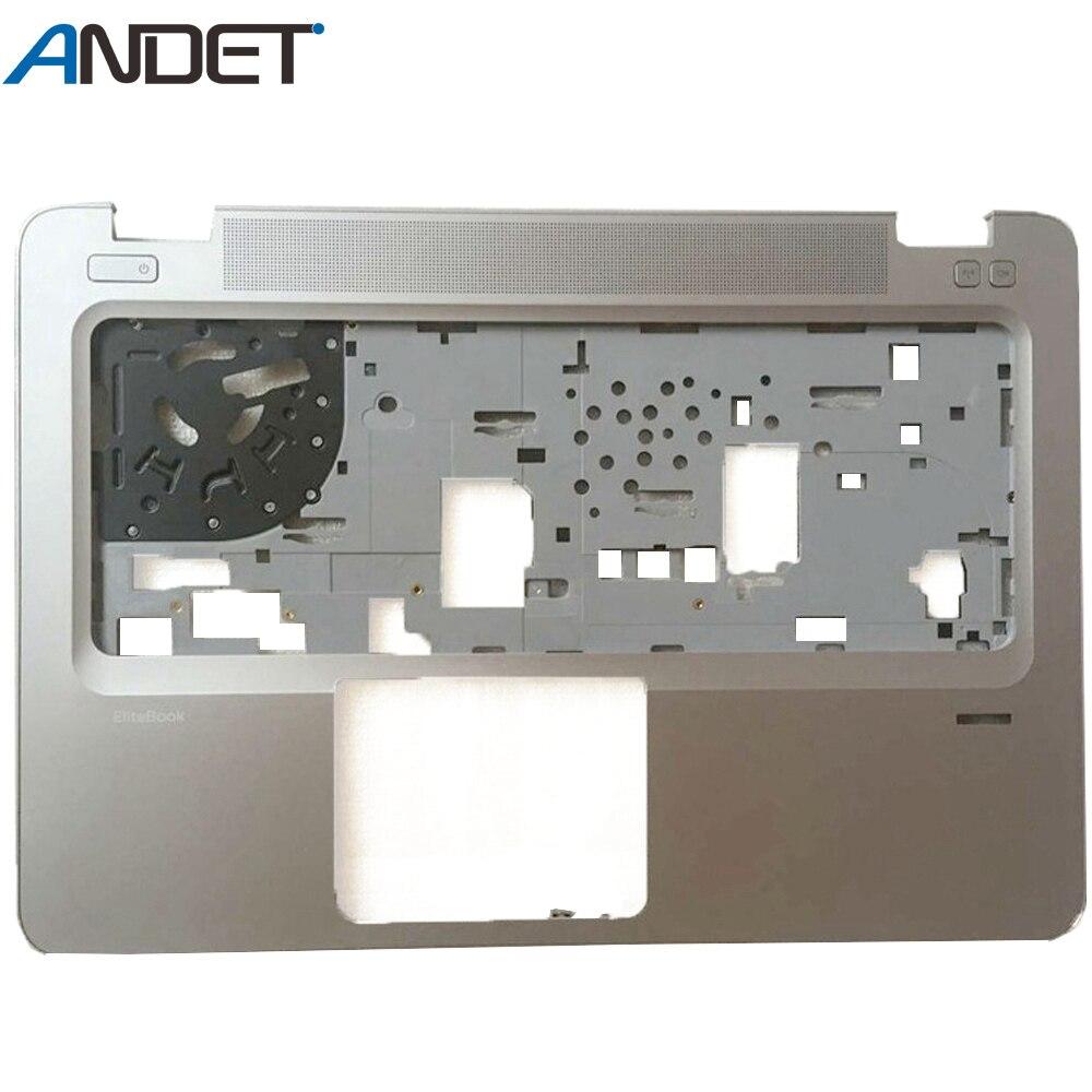 Caso superior do portátil para hp elitebook 840 g3 palmrest capa teclado moldura com furo de impressão digital 821173-001 6070b0883101