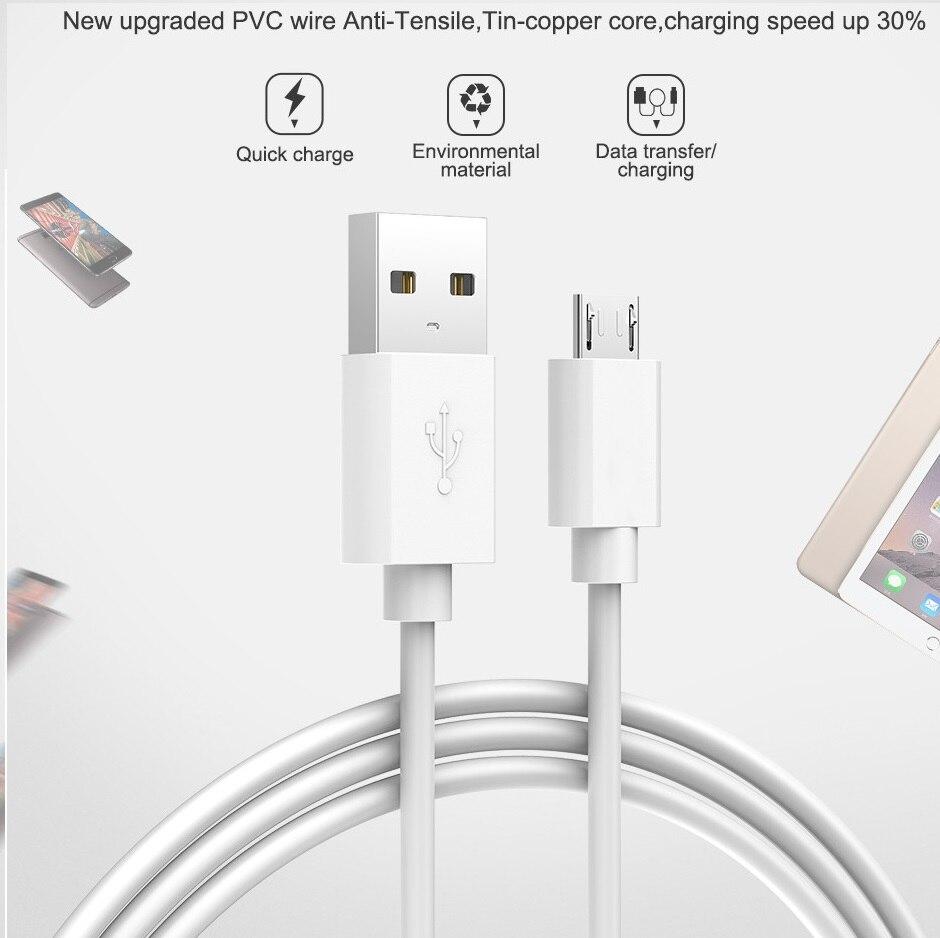 Cable de carga Micro USB, Cable de carga de datos para Android,...