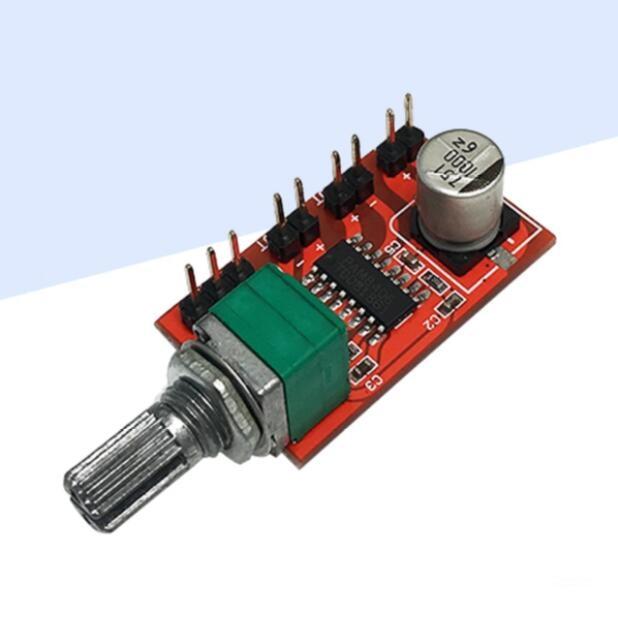 Pam8406 placa de amplificador digital/módulo de placa de amplificador de alto-falante de condução óssea/2*5 w carga 2 euro