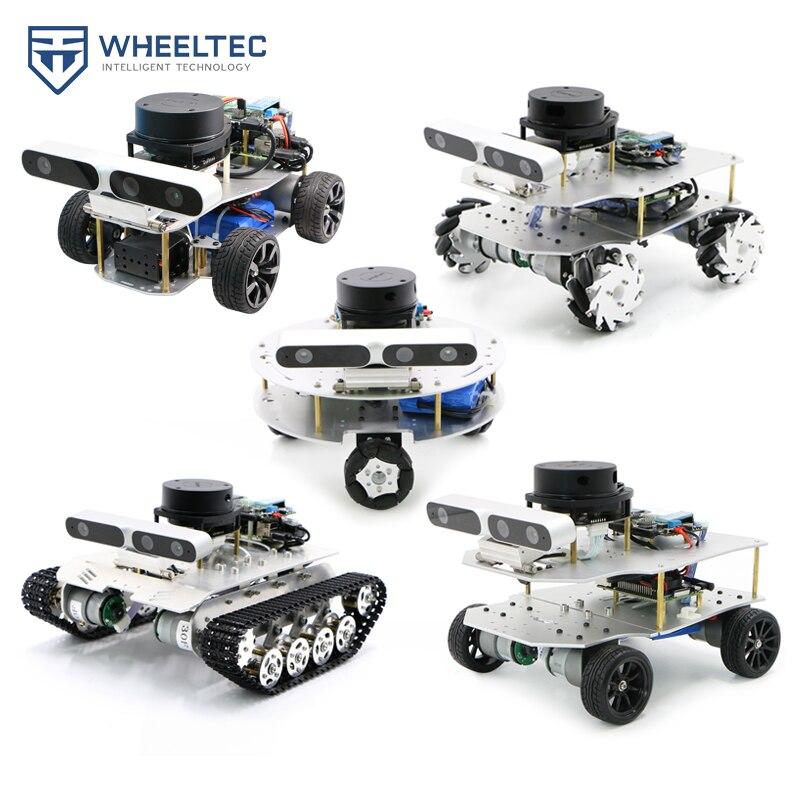 ROS robot Ackerman differential unmanned car McNum wheel Moveit robotic arm Raspberry Pi