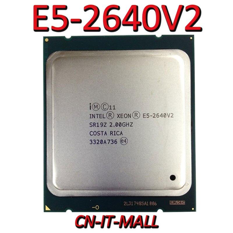 Intel Xeon E5-2640V2 CPU 2,0 GHz 20MB Cache 8 Kerne 16 Themen LGA2011 Prozessor