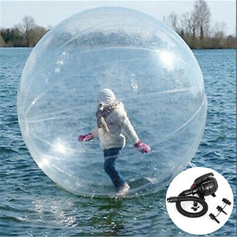 Bola inflable para caminar por el agua de 2m, bolas de hámster humano, juego de billar, pelota de baile, pelota Zorb, equipo de entretenimiento divertido