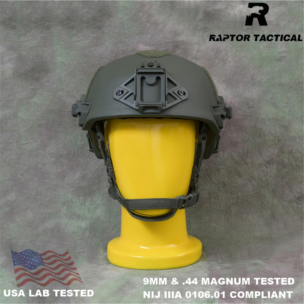 Raptor Tactical Team Wendy UHMWPE Ballistic Helmet NIJ IIIA 3A 0106.01 Genuine ISO EPIC High Cut XP SEAL Dev Bulletproof Helmet