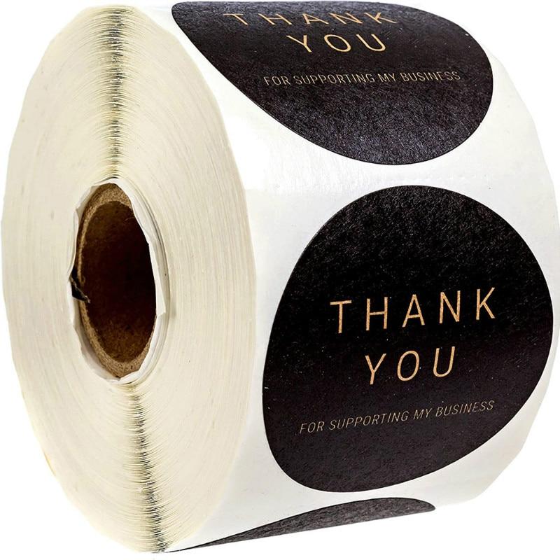 500pcs-adesivo-fatto-a-mano-grazie-adesivi-per-affari-15-pollici-olografico-per-te-adesivi-sigillo-etichette-adesive-rotolo-adesivo