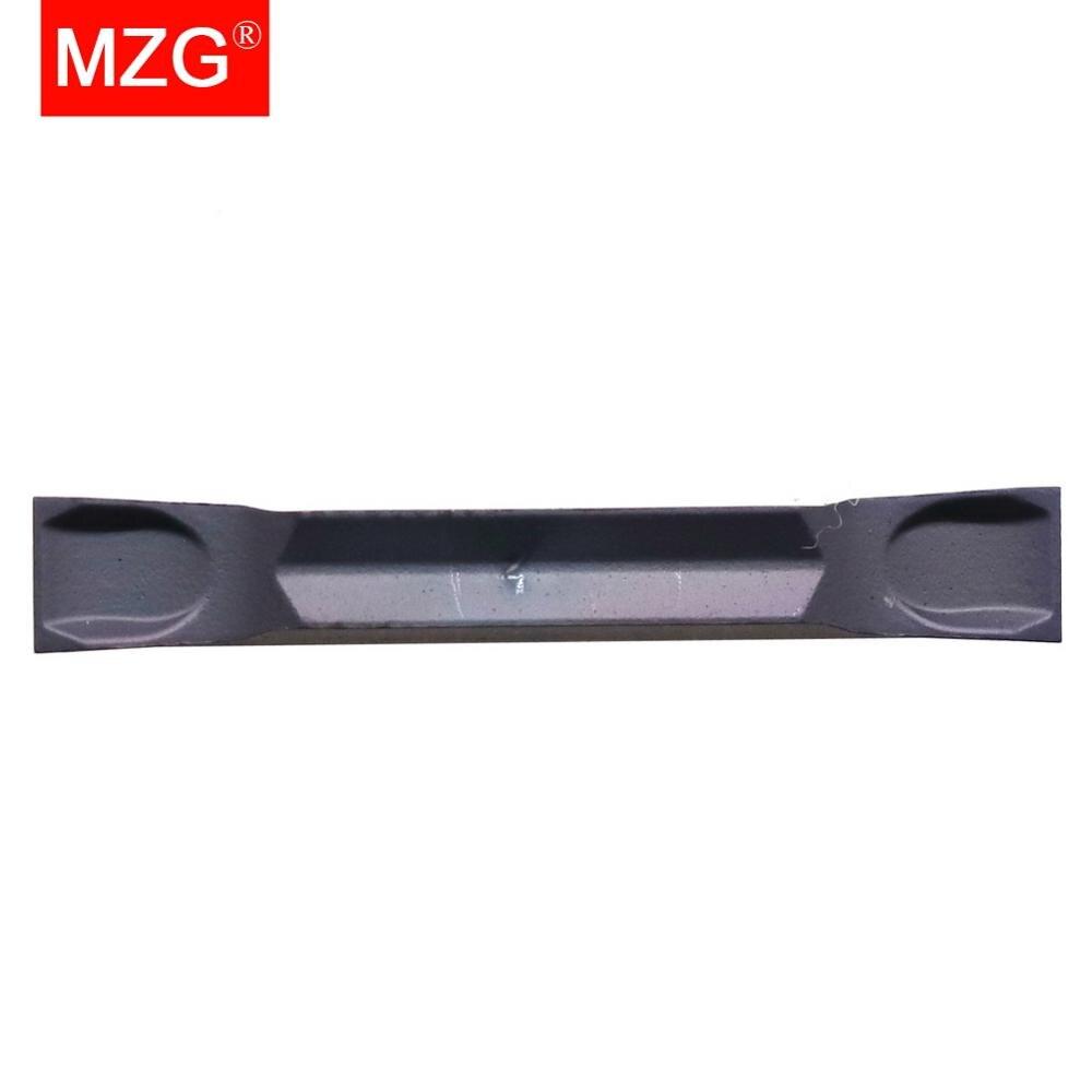 Sulco de Aço Pces Zp1521 Inoxidável Separando Fora Torneamento Torno Usinagem Cnc Carboneto Inserções Mzg 10 Gmm 1520-mt