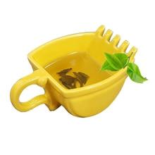 Tasse tasse seau céramique   Pelle créative modèle tasse cigare whisky cendrier café thé tasse cadeau danniversaire tasse à thé