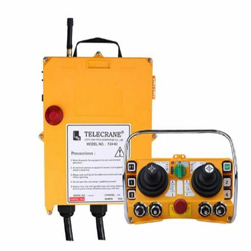 Wireless Industrial Remote Controller Electric Hoist Remote Control Transmitter + F24-60 Receiver Y high quality f24 60 industrial joystick remote control crane wireless remote control