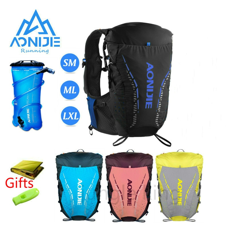 C9104 Ultra Vest SM ML LXL 18L Hydration Backpack Pack 2L water bag Soft Water Bladder Flask Hiking Trail Running Marathon Race