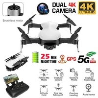 gps drones helicopter c fly faith 5g wifi fpv 4k hd camera gps brushless hover 3 axis rc drone gift for toddle kids children