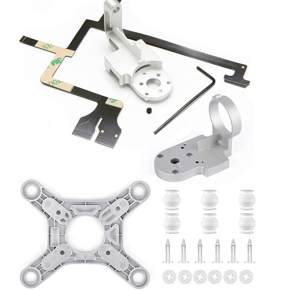 Piezas de reparación para DJI Phantom 3 Drone avanzado brazo de Yaw soporte plano cinta Flex Cable Gimbal montaje Motor Cámara accesorio