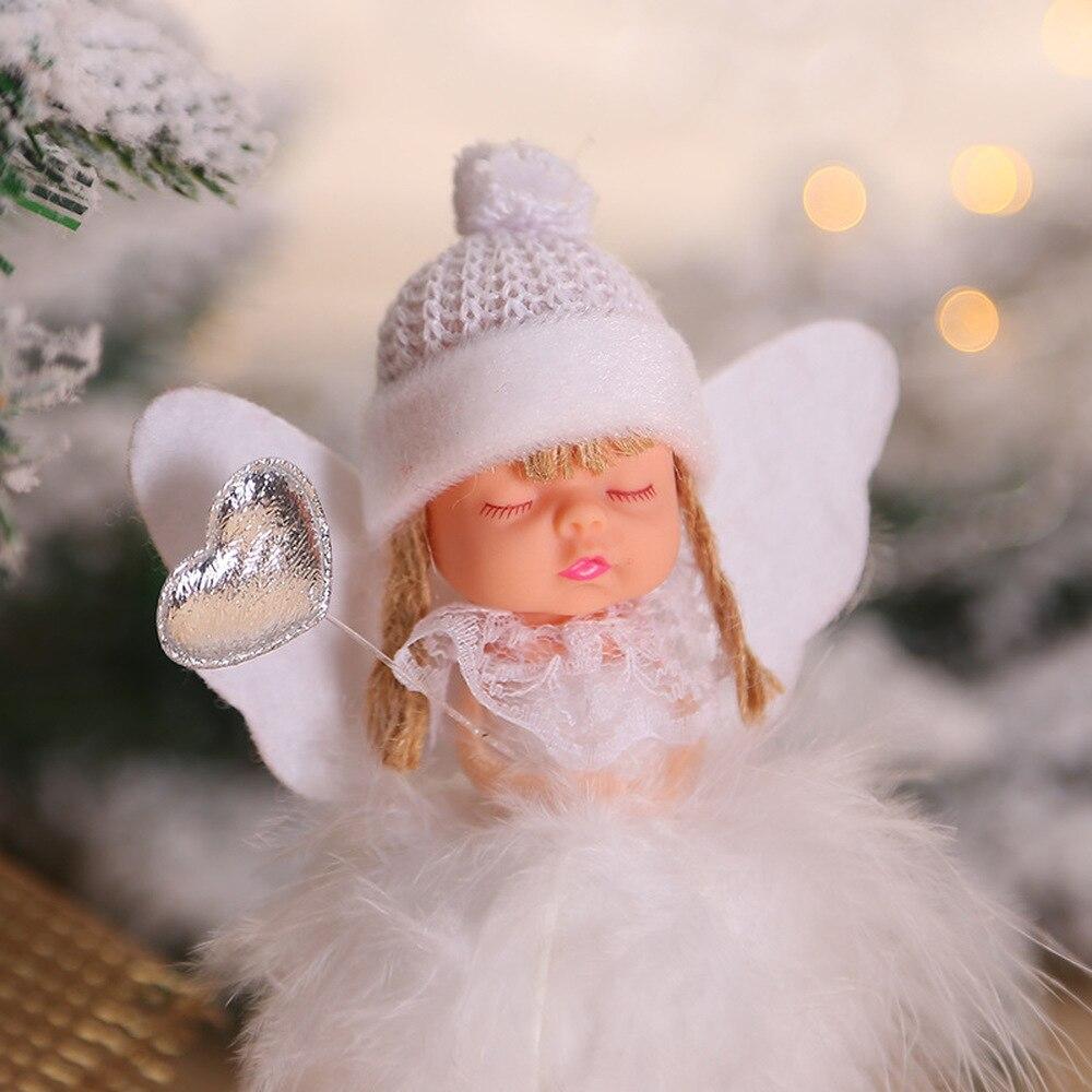 Christmas Angel Doll Merry Christmas Decorations for Home Christmas Elf Tree Pendant 2019 Xmas Gifts Deco Navidad  New Year 2020