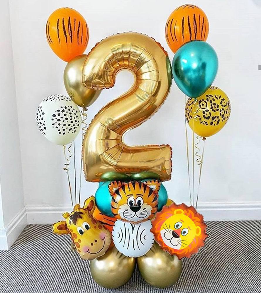 18 шт., декоративные цифры в виде цифр шарики фольгированные декор на день рождения цифры на день рождения шары цифры