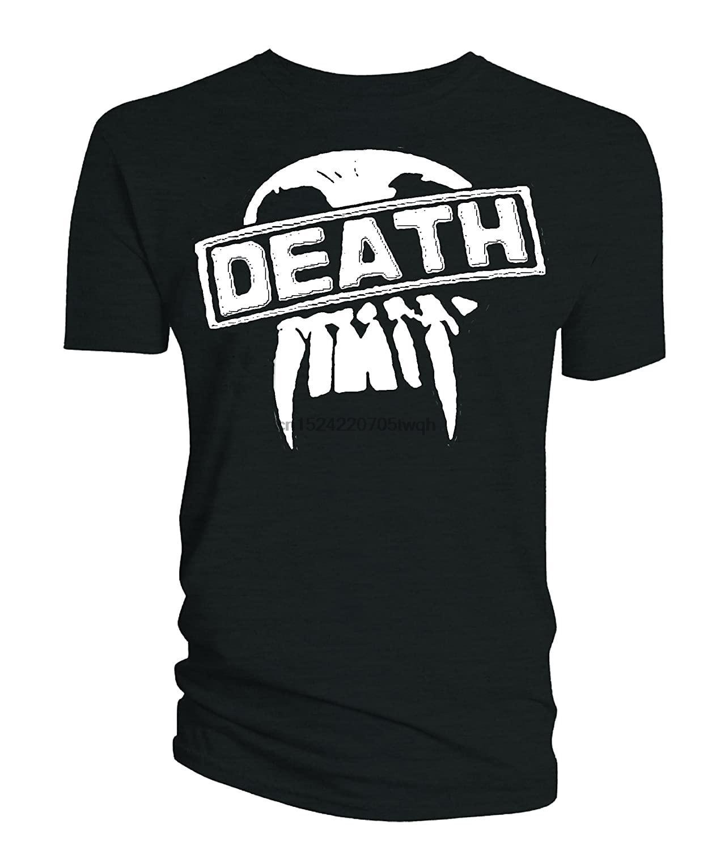 Camiseta para hombre de 2000AD, insignia gigante Judge Dredd Death