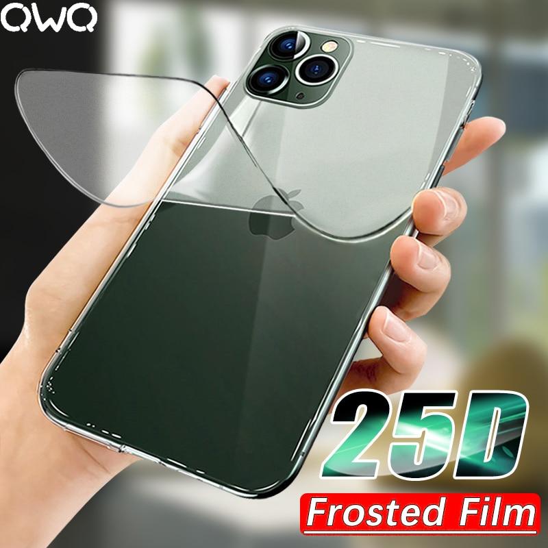 25D матовая Гидрогелевая пленка для iPhone SE 2020 11 Pro MAX Защита экрана для iPhone XR X XS MAX 6 6s 7 8 Plus 11 Полная пленка