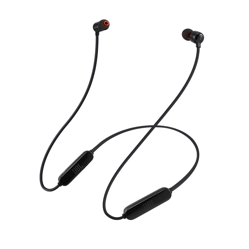 JBL T110BT in-ear wireless Bluetooth headset sports running earbuds magnetic suction flat wire music control neck headset enlarge