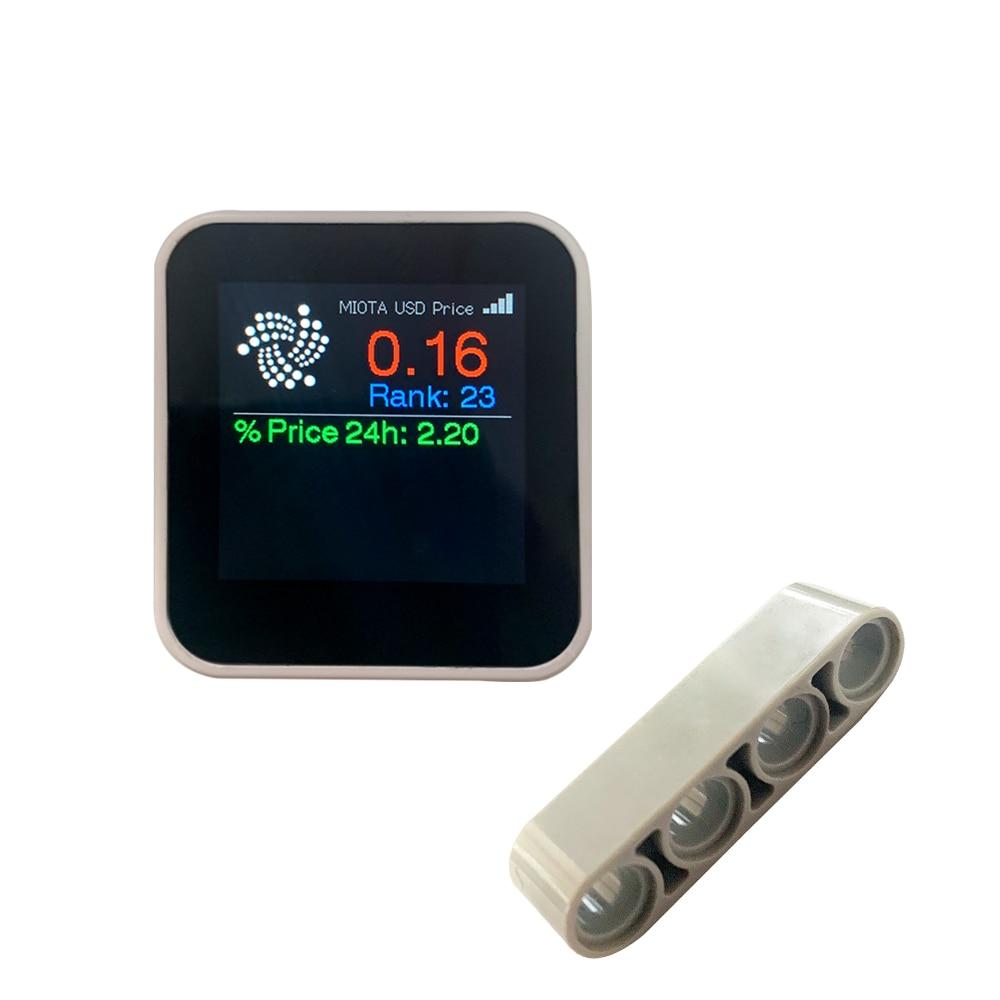 LILYGO®TTGO T-Watch IOTA متوافق مع كتل بناء Partcle قابلة للبرمجة يمكن ارتداؤها التفاعل البيئي ESP32 C