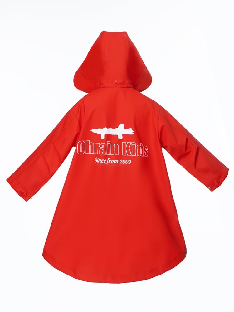 Children Rain Poncho Waterproof Wet Weather Gear Reusable Rainwear Cover Fashion Impermeable Veste Pluie Kids Raincoat EB50YY