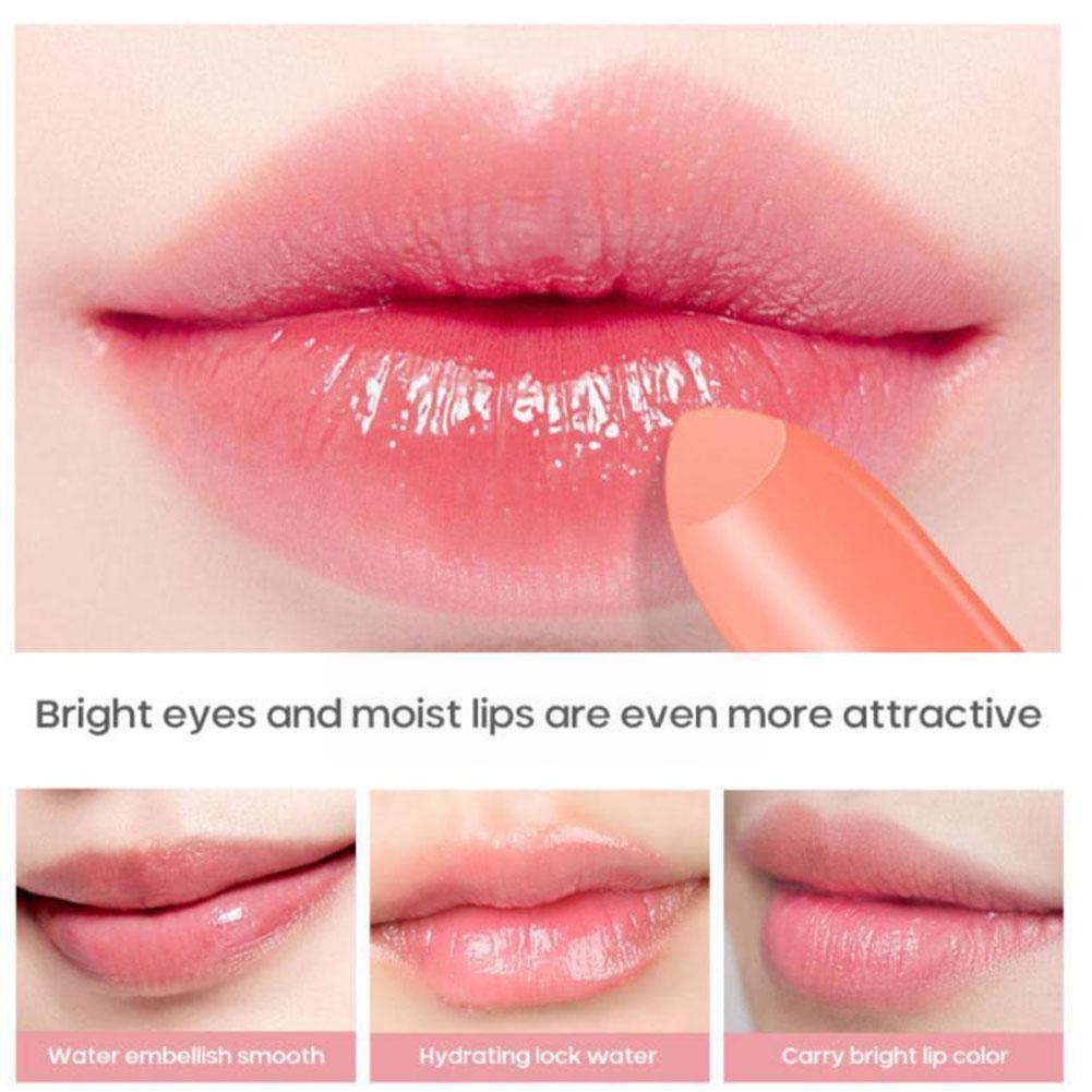 Hot Sell Peach Lip Balm Moisturizing Anti-chapped Lip Mask Lip Long Lip Moisturizing Balm Waterproof Lasting Balm Care L8W9 недорого