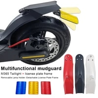 electric scooter rear fender m365 mudguard with taillight kit for xiaomi m365 pro pro2 electric scooter tail fender