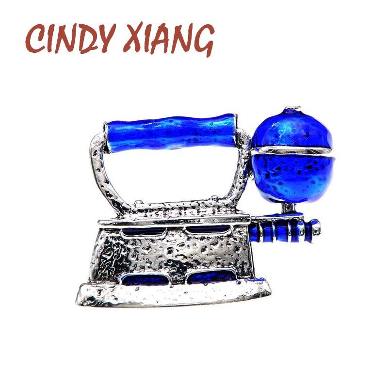 CINDY XIANG Emaille Dampf Eisen Pin Unisex Frauen Und Männer Broschen Kreative Desgin Pin Modeschmuck 4 Farben Erhältlich