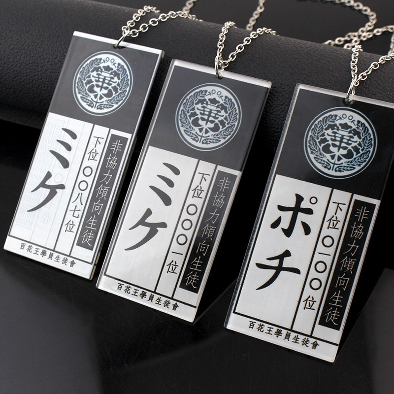 Anime gambling in the abyss of non cooperative tendency: snake ho Meng Zi Cosplay accessories acryli