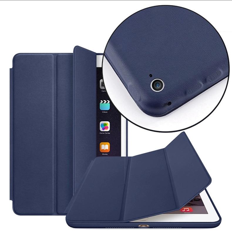 Essidi Funda inteligente Original para ipad Air 1 2 Funda Tablet Funda plegable para ipad 5 Funda protectora de 6 generación