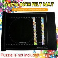 Puzzle rouleau tapis de rangement Puzzle feutre économiseur pour jusquà 1500 pièces 24*46 USA