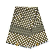 Tecido de cera real africano para o vestido áfrica nigeriano ancara impresso cera tecidos verdadeiro super bloco impressão tecido 100% algodão