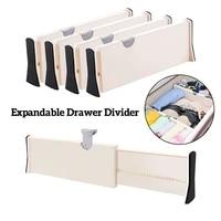 adjustable storage drawer dividers organizers separators retractable partition kitchen drawer organizer storage clapboard