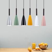 Nordic Led Pendant Lights Industrial Modern Hanging Lamp Cafe Bedroom Bedside Lamp Dinning Room Light Night Lamp E27 Led Light